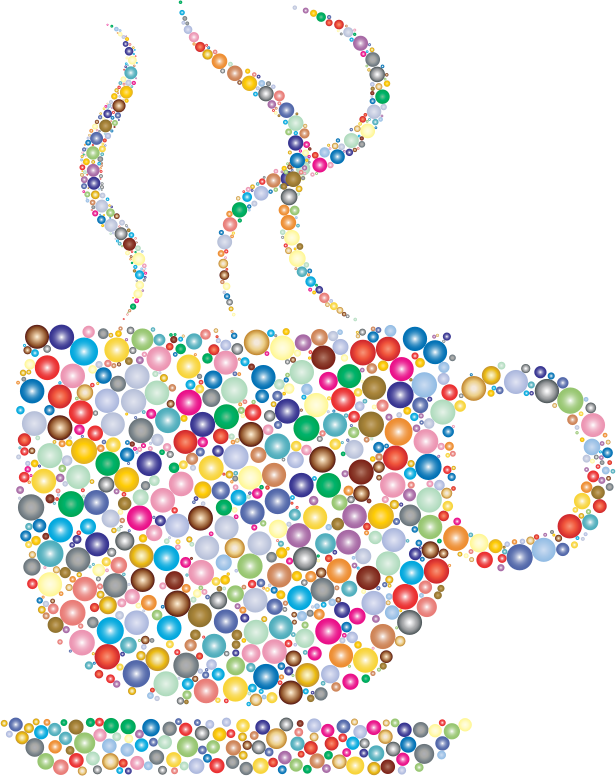 Colorful Coffee Circles 5