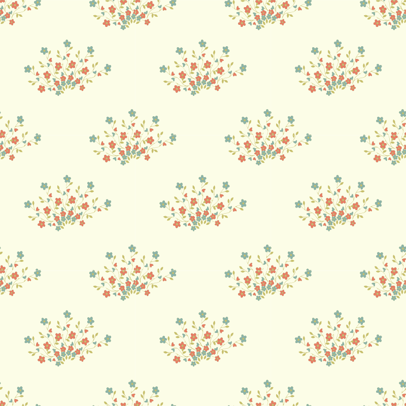 Flower-seamless pattern