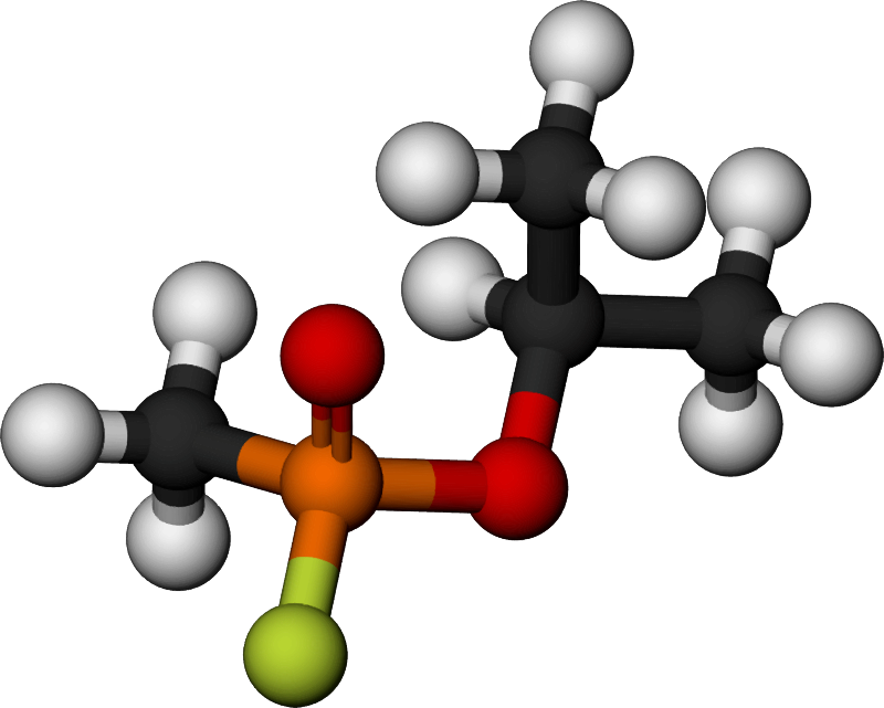 Famous (and infamous) molecules 22 - sarin