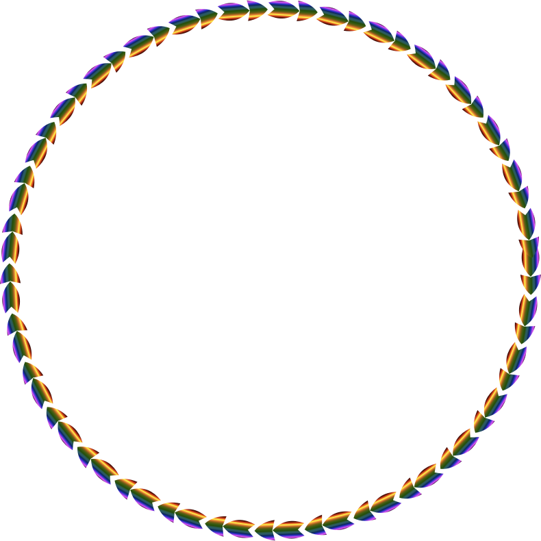 Colorful Direction Circle