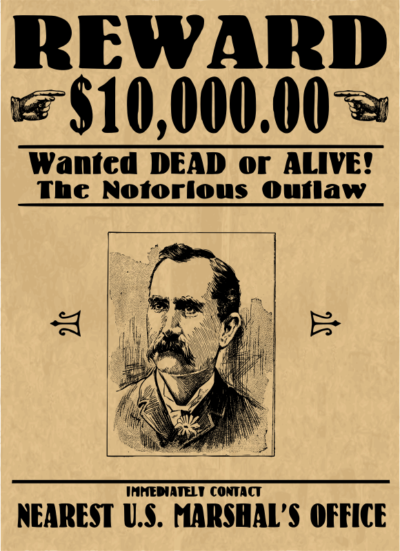 Wanted Poster - Face