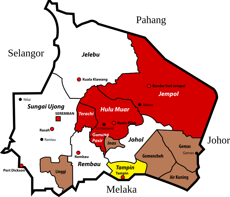 Adat Perpatih Customary Districts of Negeri Sembilan