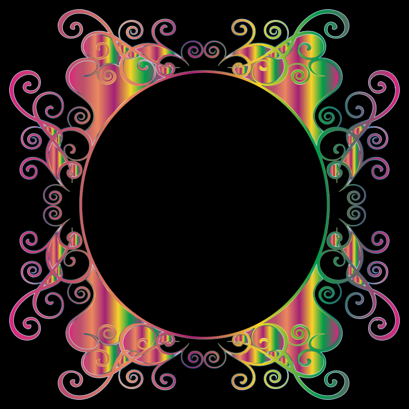 Prismatic Flourish Frame 3