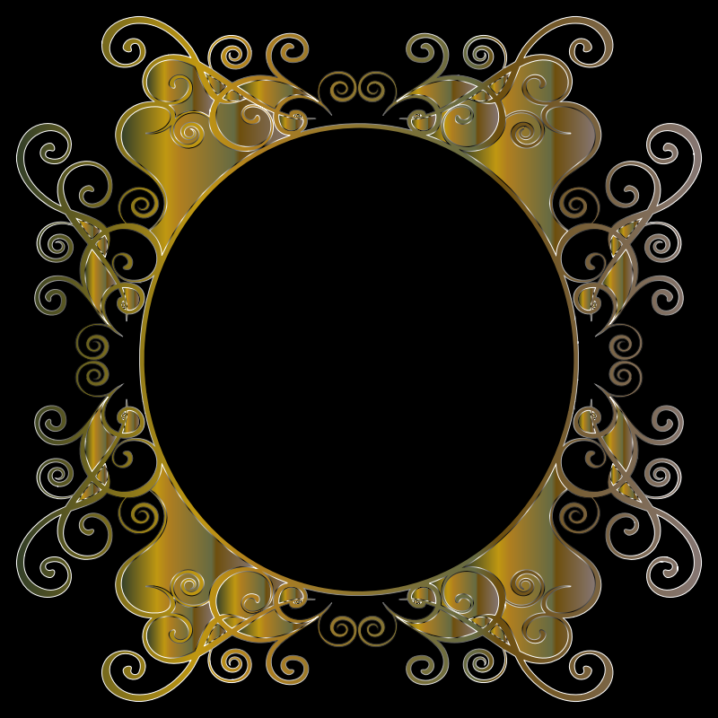 Prismatic Flourish Frame 4