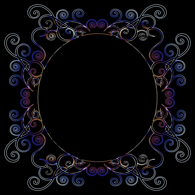 Prismatic Flourish Frame 8