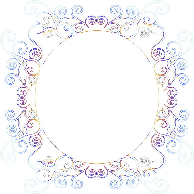 Prismatic Flourish Frame 8 No Background