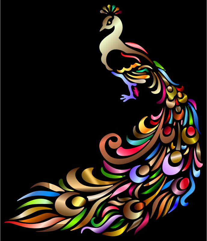 Chromatic Peacock