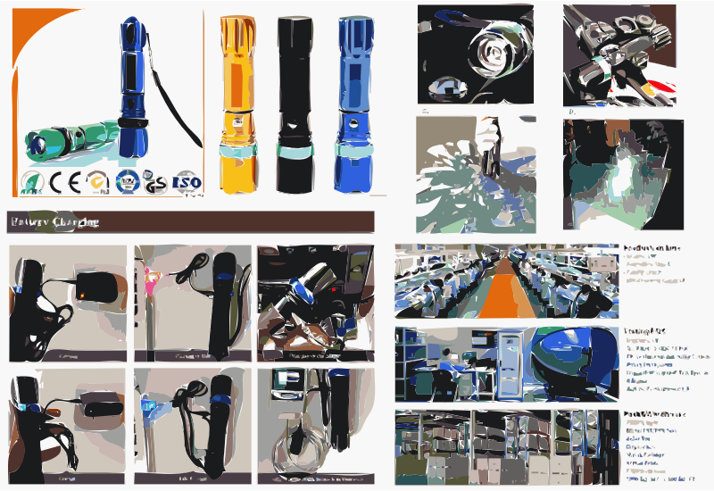 Latest High quality Metal Aluminum Material Led Flashlight