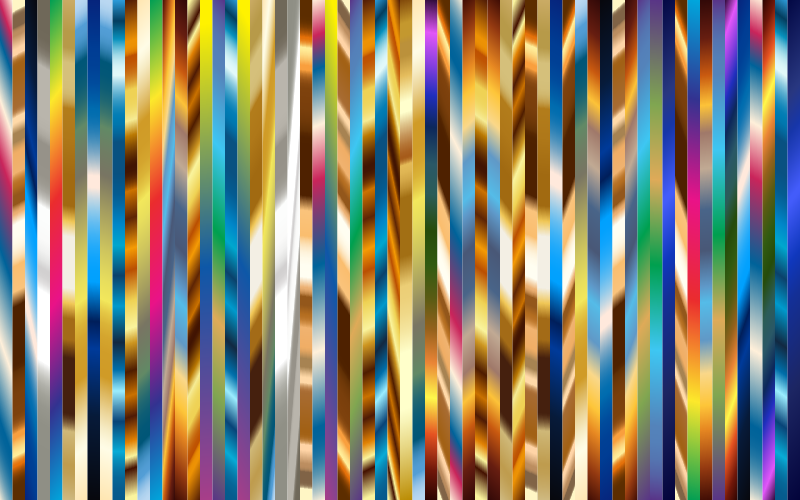 Vibrant Vertical Stripes 9