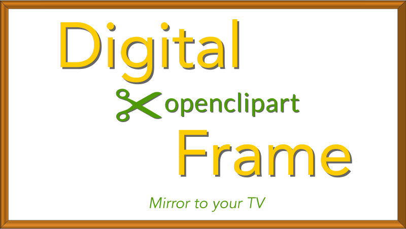 Digital OpenClipArt Frame 16x9