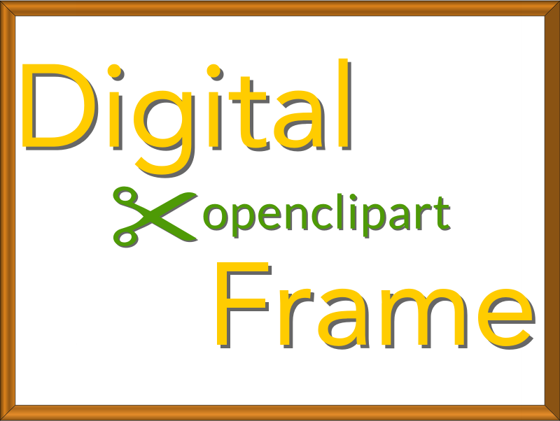 Digital OpenClipArt Frame 4x3