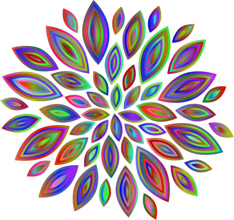 Chromatic Flower Petals 7