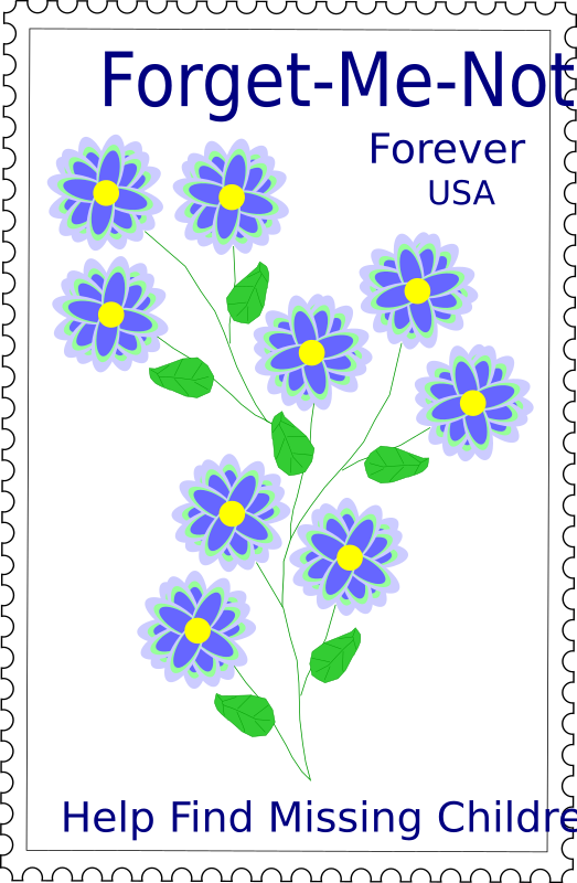 Forget-Me-Not Stamp