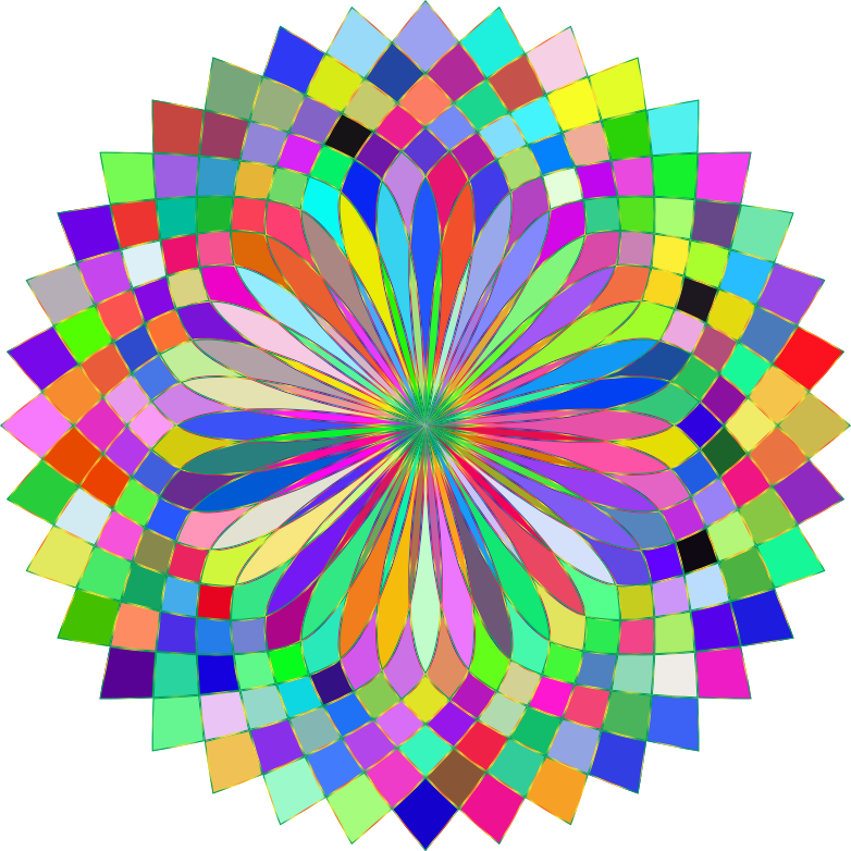 Prismatic Lotus Bloom 2 Variation 4