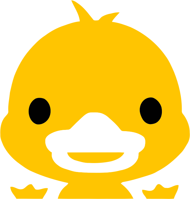 Yellow Duckling Icon
