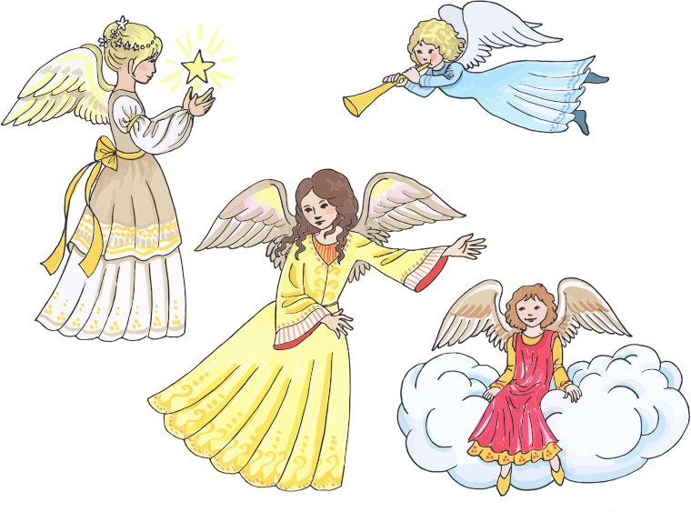 Four Female Angels