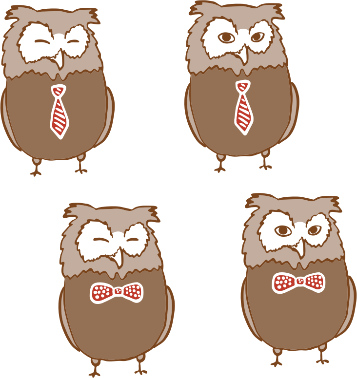 Anthropomorphic Owls 4