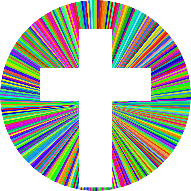Prismatic Cross Halo