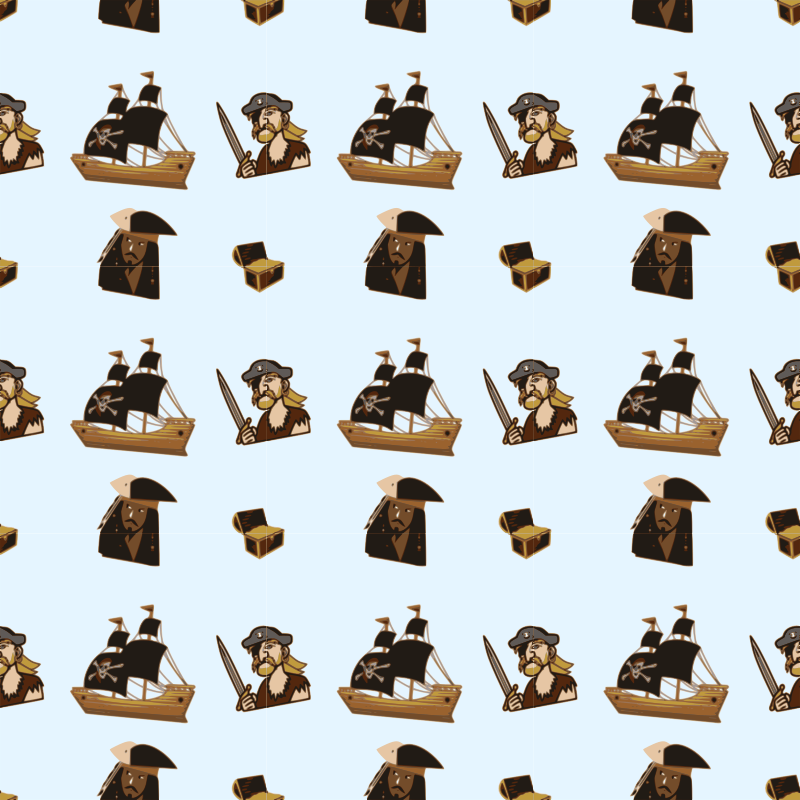 Pirate-seamless pattern