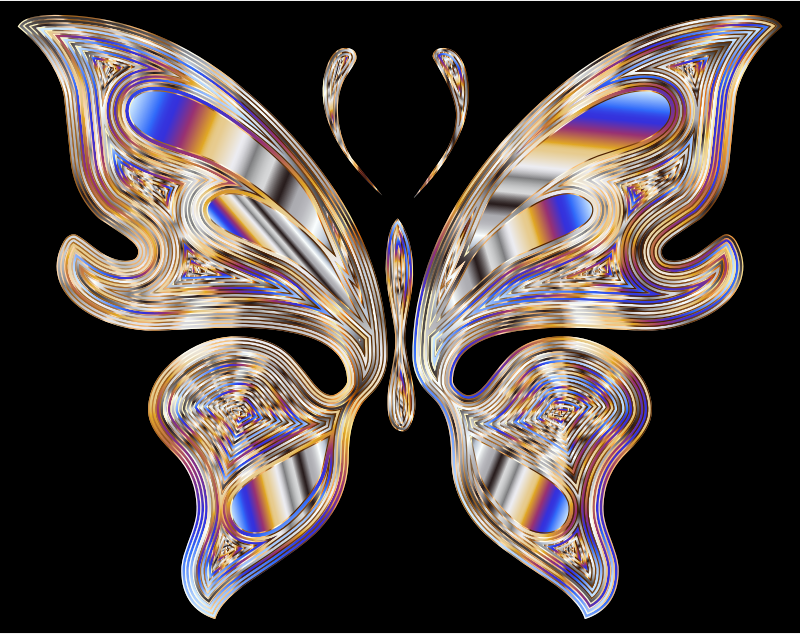 Prismatic Butterfly 18