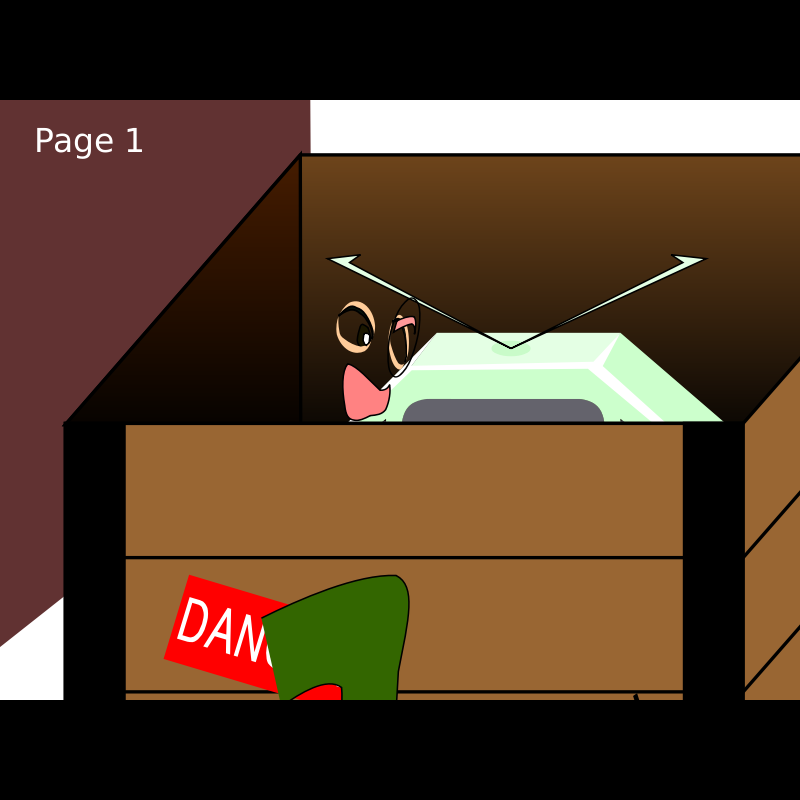 A006: Take TV out from box (Animation SMIL)
