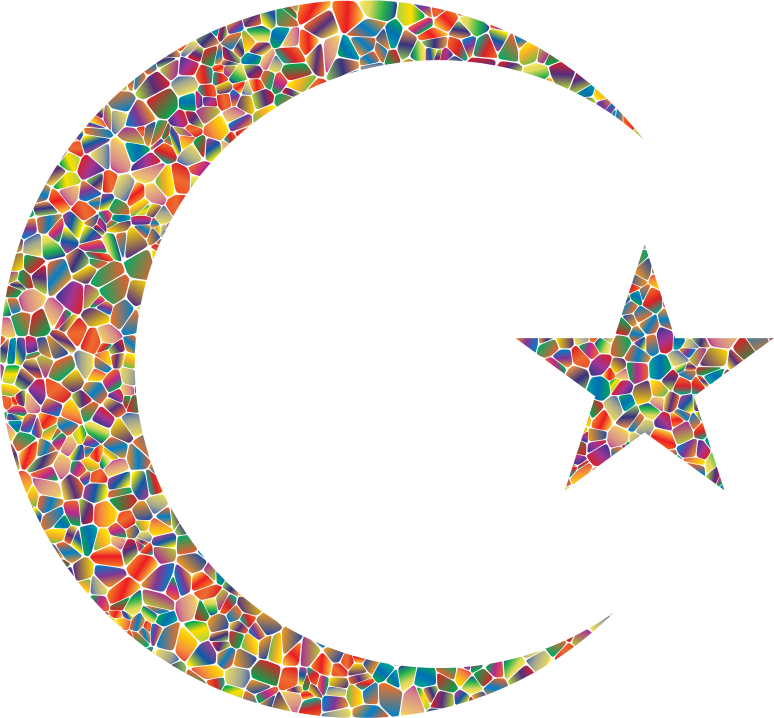 Polyprismatic Tiled Crescent And Star