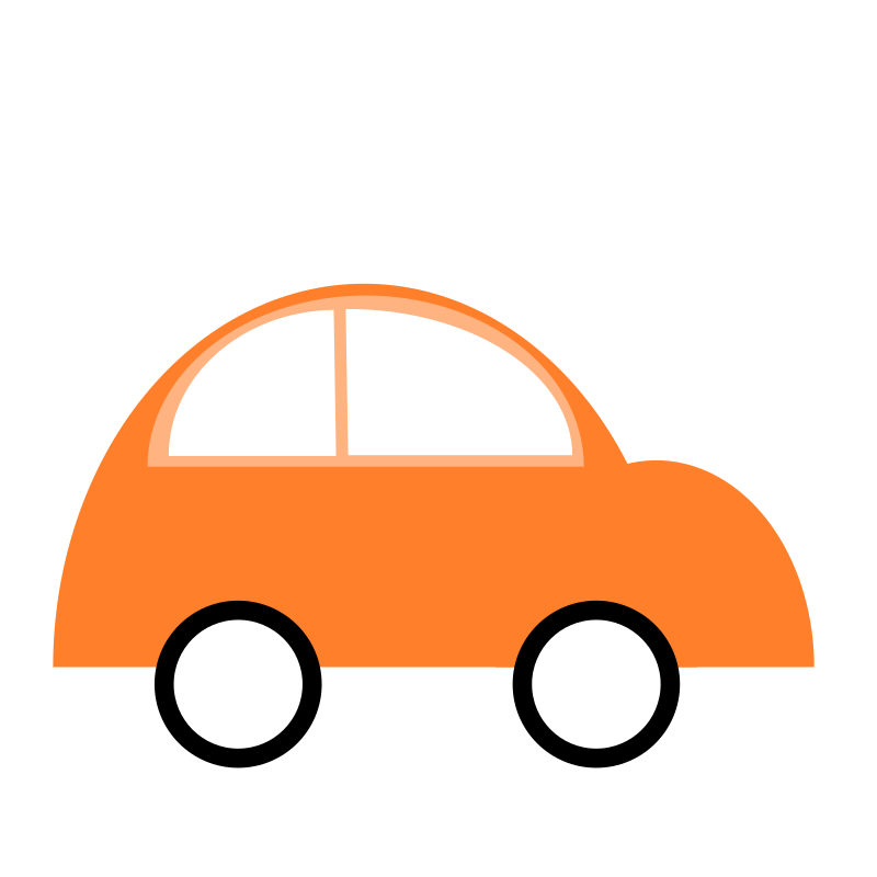 CAR- Simple-flat-three-color-with-space
