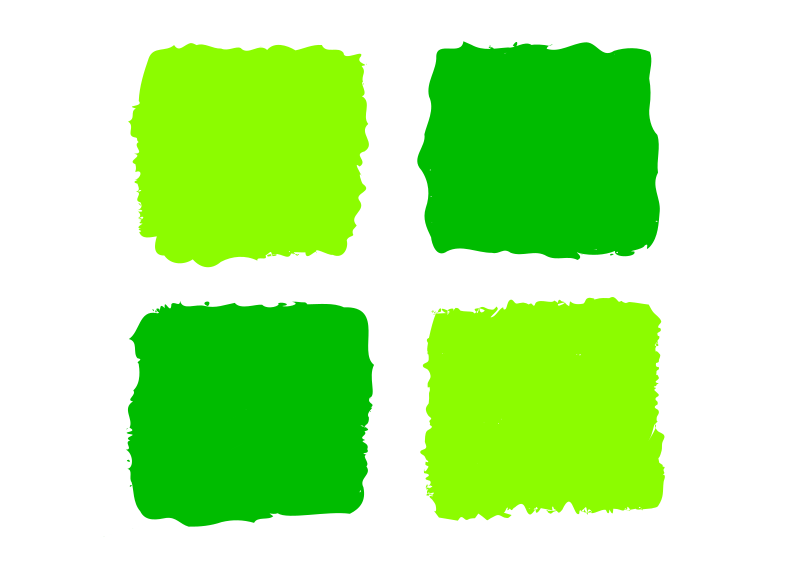 Green squares 1