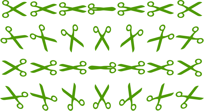 Openclipart Scissors Sprite Sheet