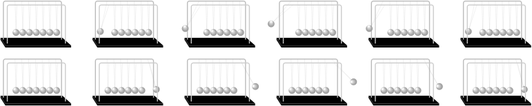 Newton's Cradle Sprite Sheet