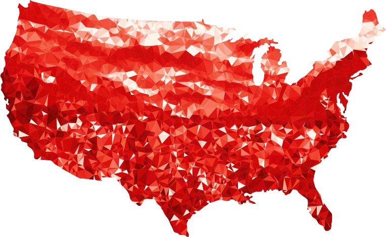 Ruby United States Map