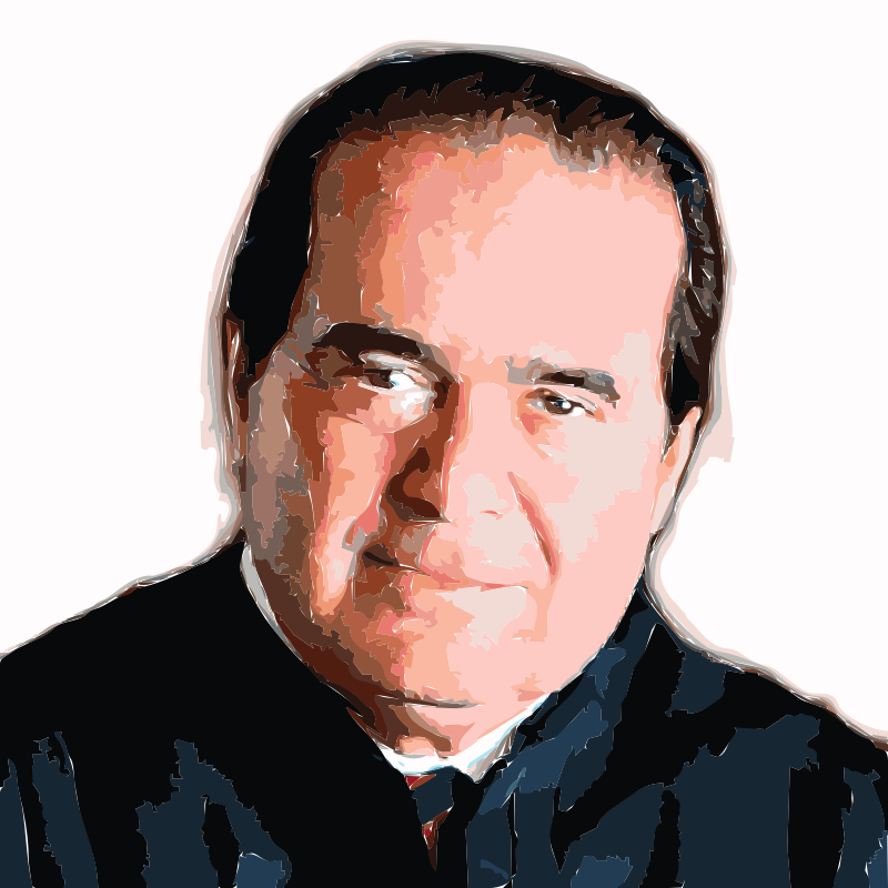 Judge Antonin Scalia (tiltshift)