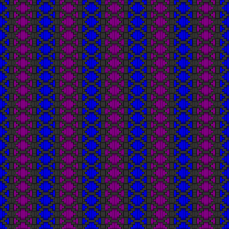 Diamond Woven Fabric Gray Blue Purple