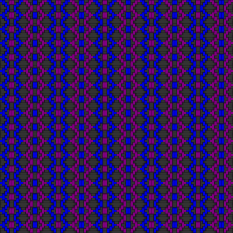 Diamond Woven Fabric 2 Gray Blue Purple