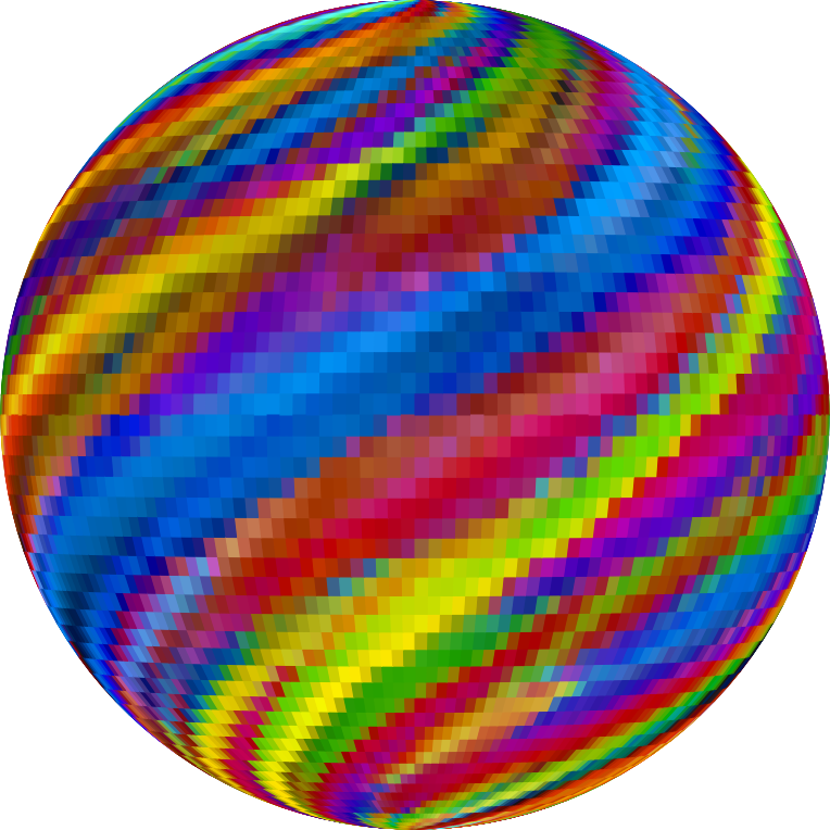 Prismatic Mosaic Marbled Orb