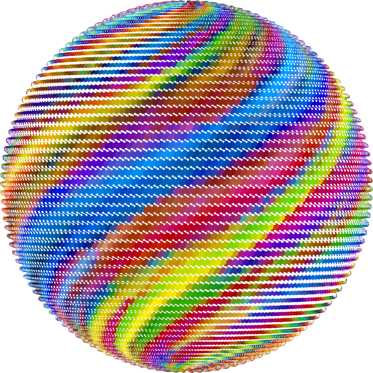 Prismatic Rippling Orb