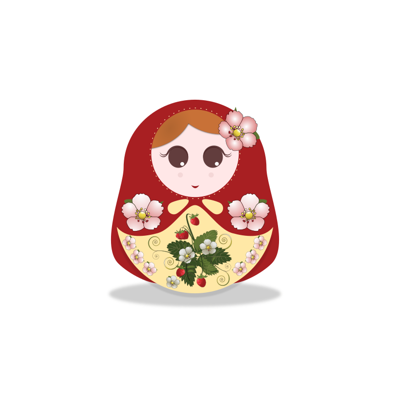 russian doll strawberry
