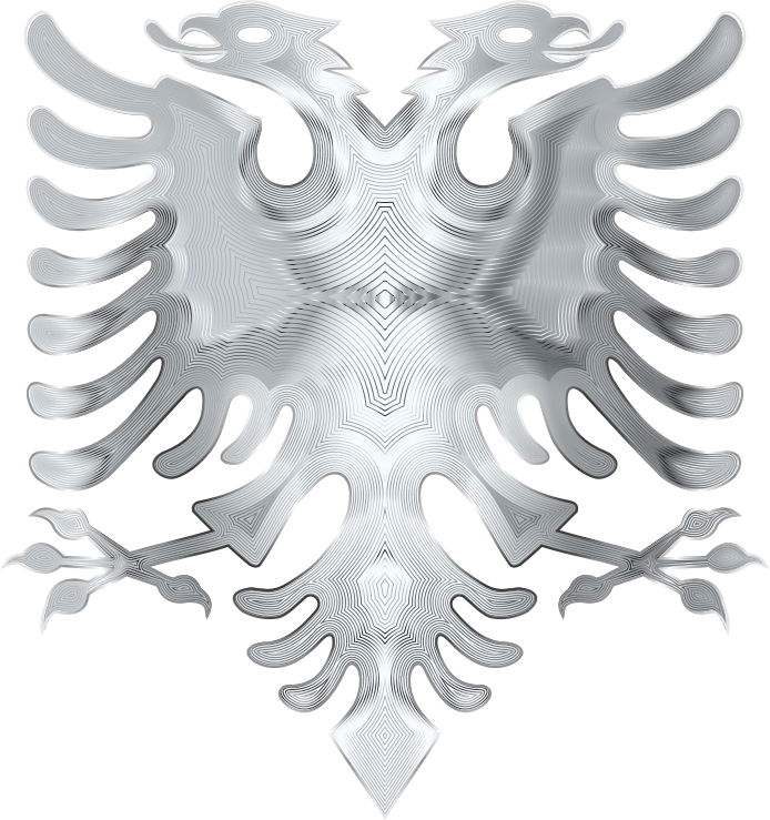 Silver Double Headed Eagle