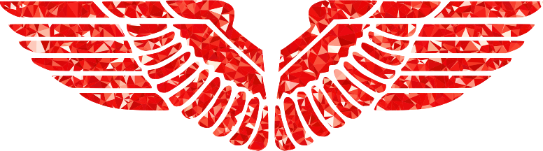 Ruby Eagle Wings