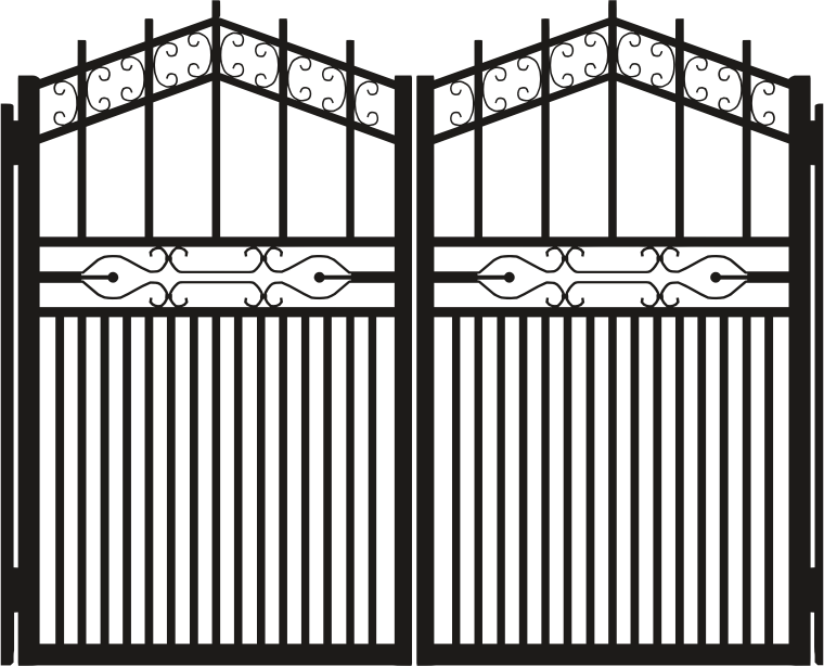 Iron Gate Silhouette