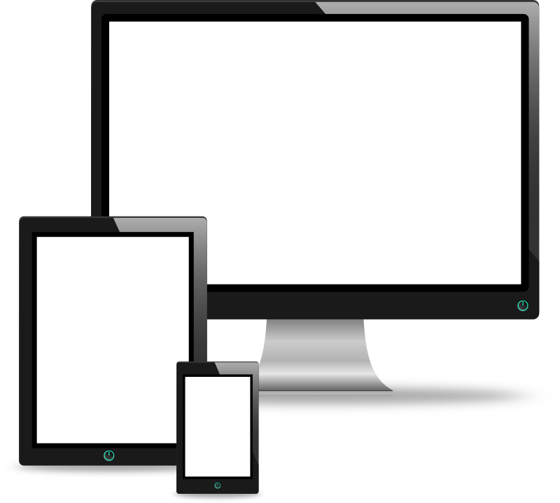 Computer, Tablet and Phone Vectors