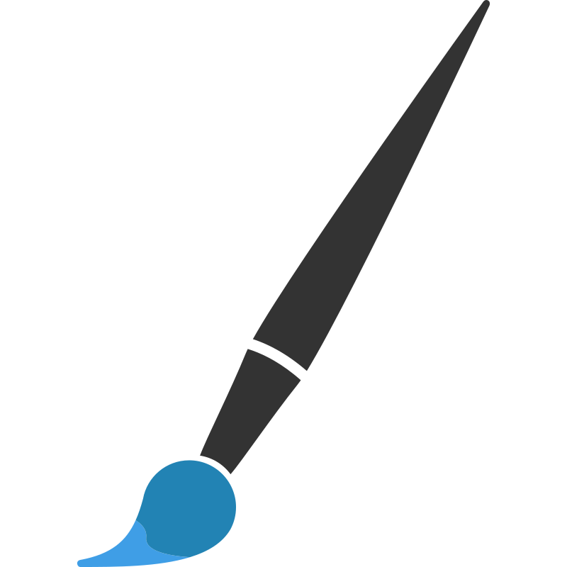 Minimalist Paint Brush