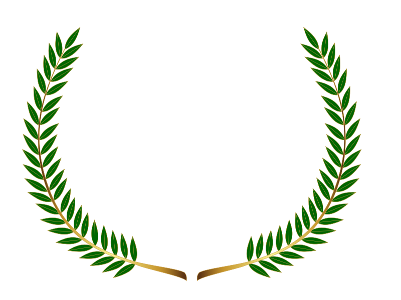 Laurel wreath (colour)