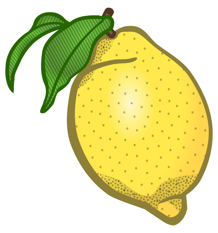 lemon - coloured