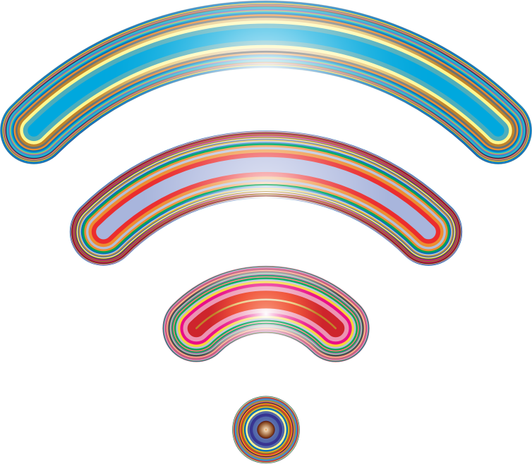Wireless Signal Icon Enhanced