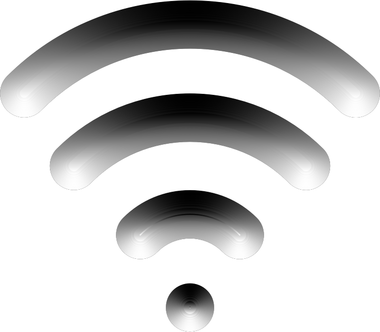 Wireless Signal Icon Enhanced 2