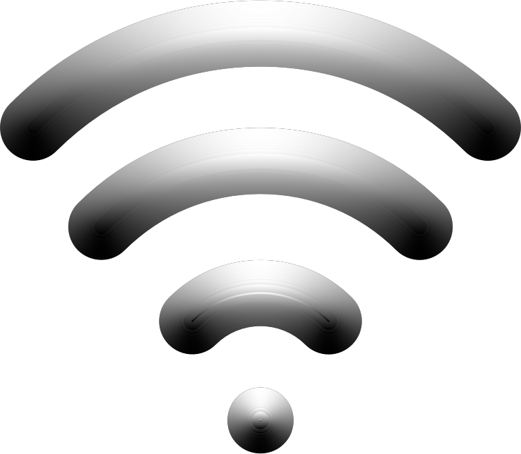 Wireless Signal Icon Enhanced 2 Variation 2