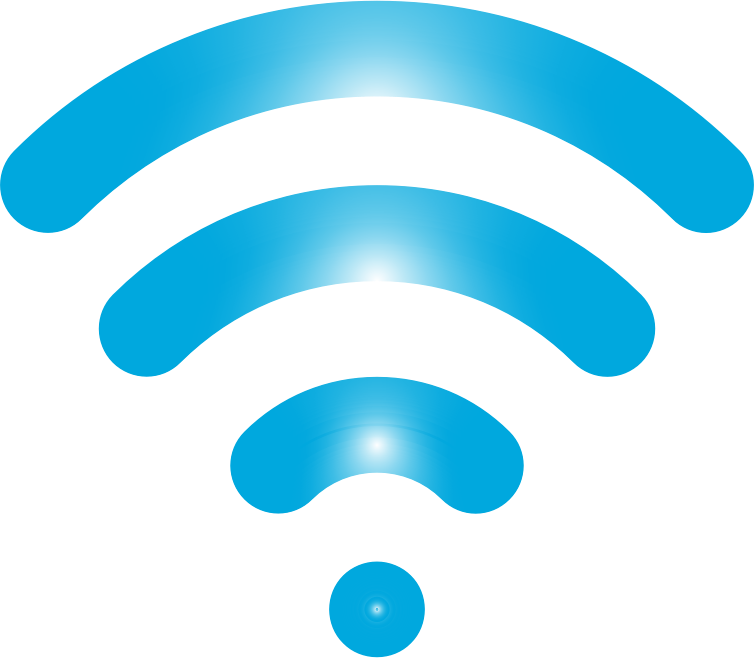 Wireless Signal Icon Enhanced 4