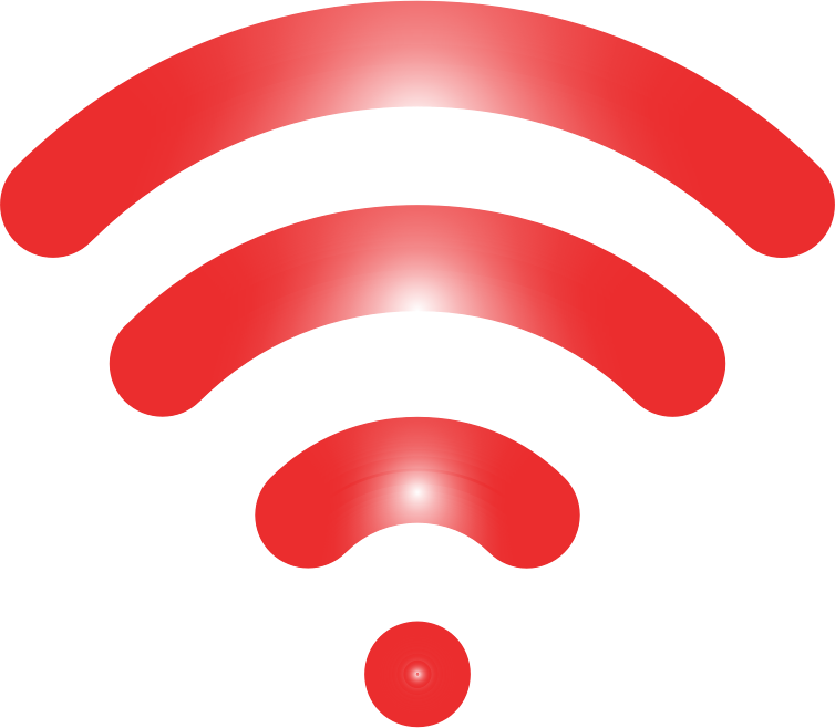 Wireless Signal Icon Enhanced 5