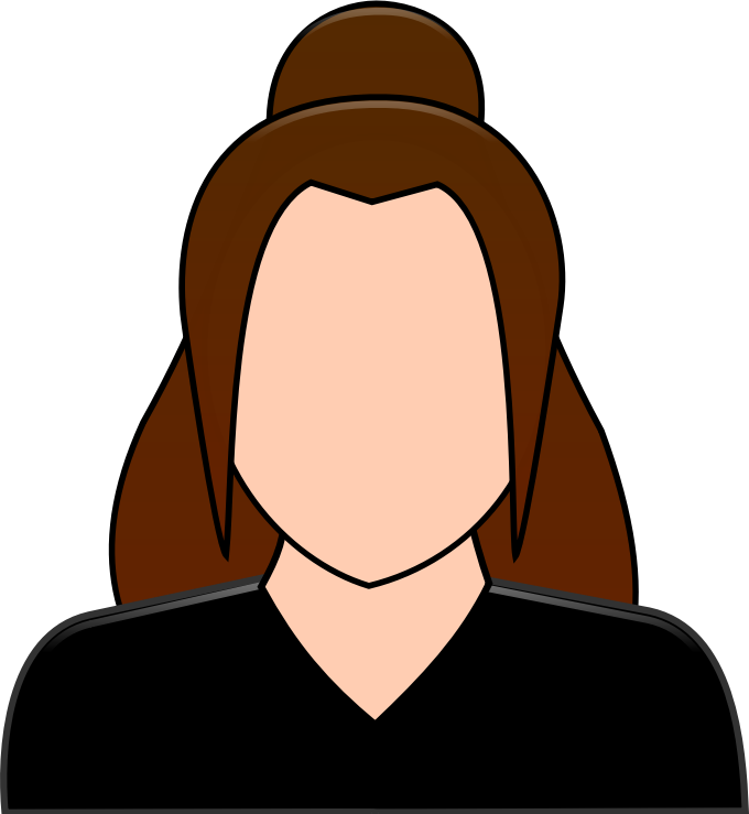 Female User Icon (personalized)